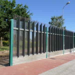 barriera stradale antigraffio policarbonato lexan