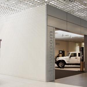 composito alluminio polietilene dibond allestimento negozio