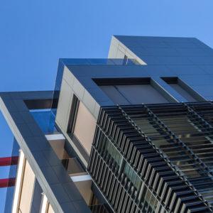 palazzina residenziale rivestimento facciata alucobond alluminio composito