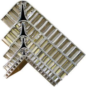 pannello composito alluminio nido ape alucore
