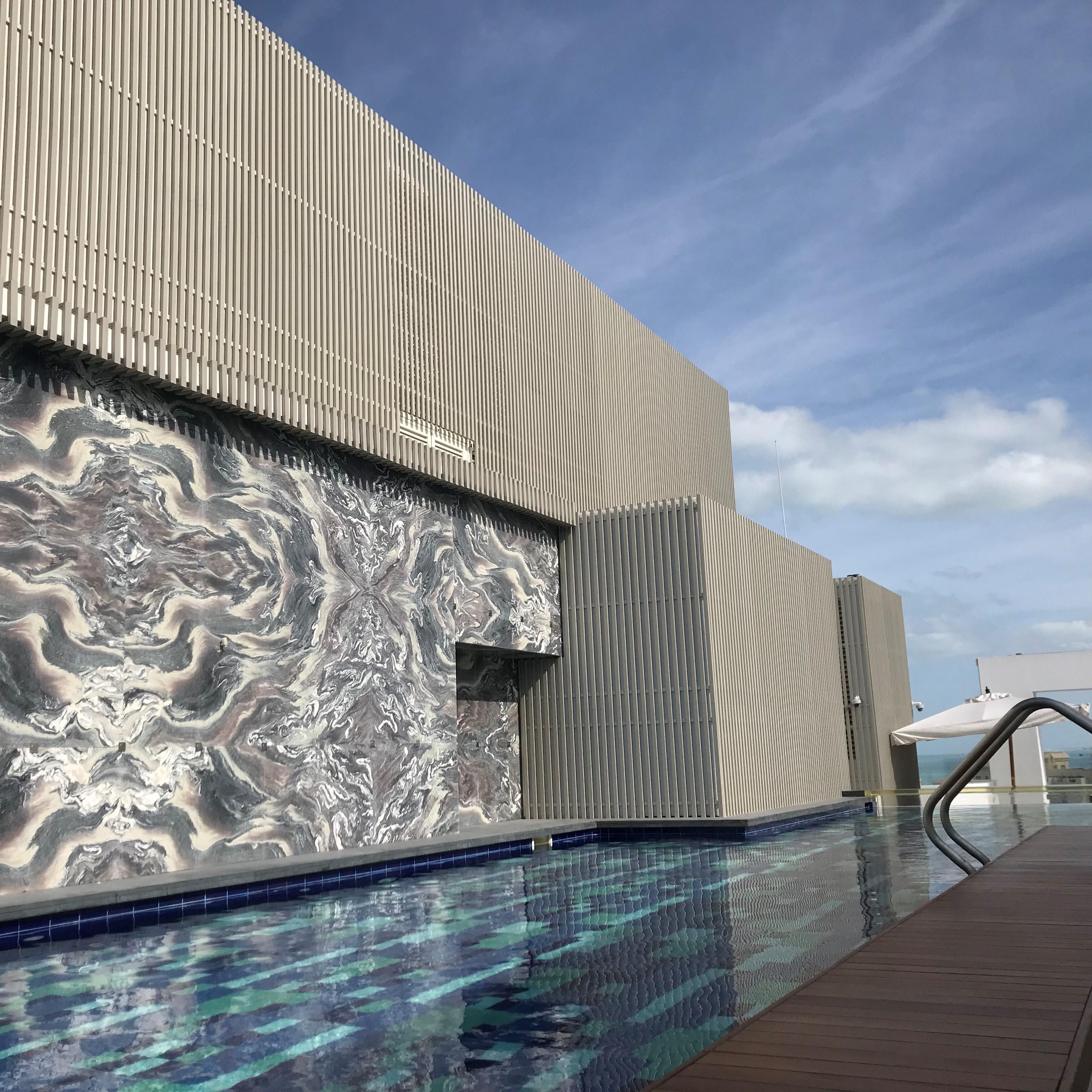 Rivestimento di facciata hotel FIVE PALM JUMEIRAH DUBAI