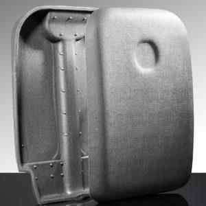 guscio trolley termoformato