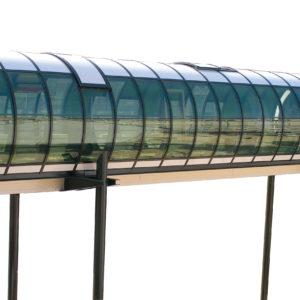 lexan exell d policarbonato per tunnel stradali antiuv