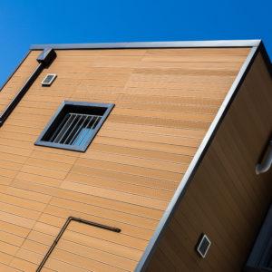 rivestimento facciata wpc tecnodeck casa privata